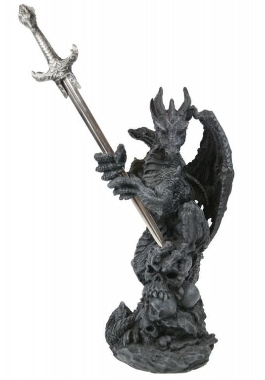 Photo of Dragon Letter Opener Holder Ornament