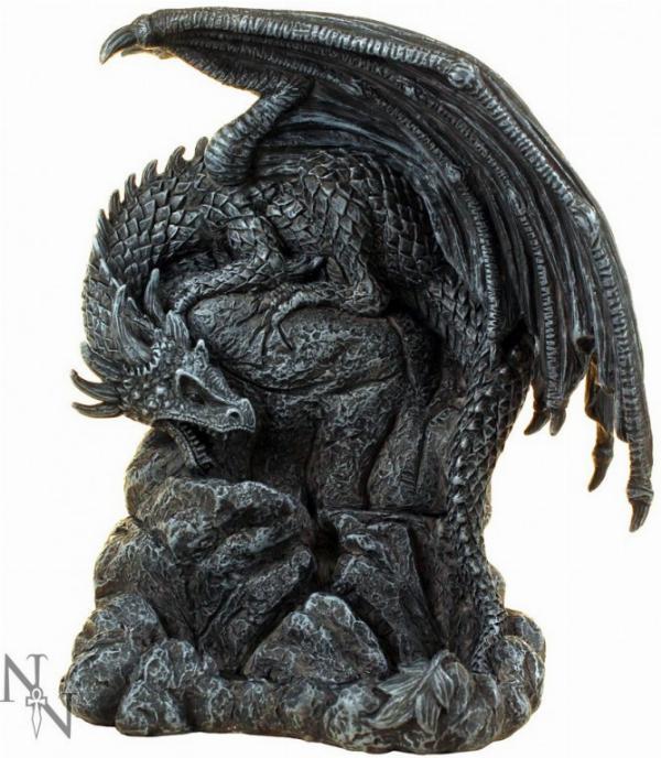 Photo of Dragon Pool Backflow Incense Burner 19cm