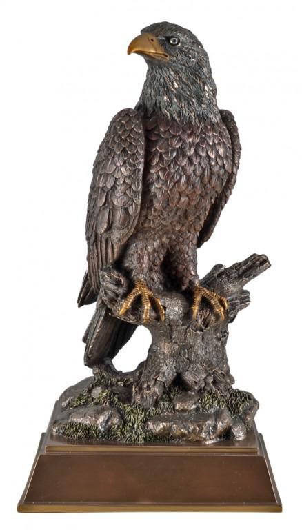 Photo of Eagle Bronze Figurine 42 cm Large