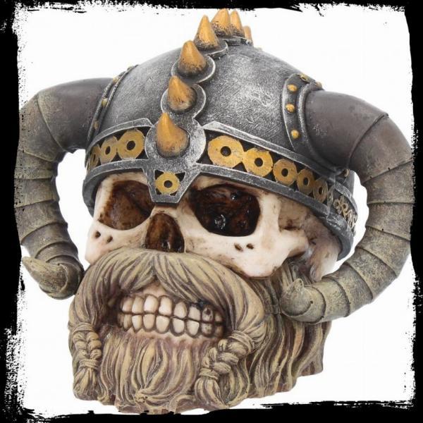Photo of Erik Viking Skull Ornament 15cm