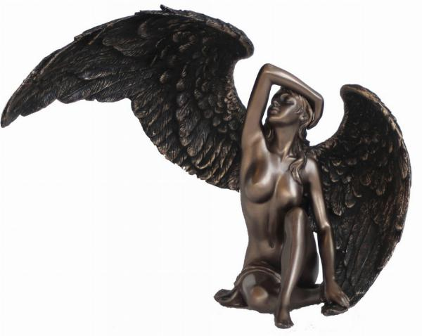 Photo of Female Angel Bronze Figurine