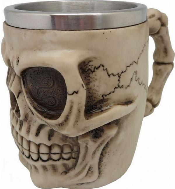 Photo of Grinning Skull Tankard Large