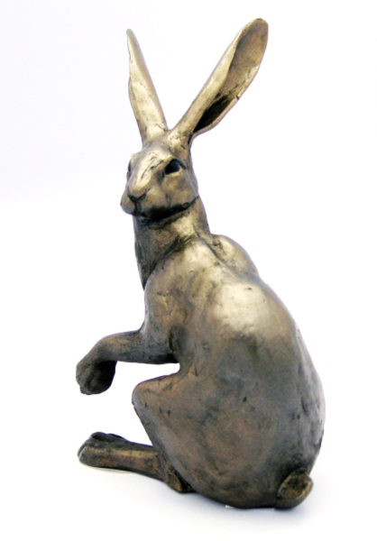 Photo of Hattie Hare Bronze Figurine