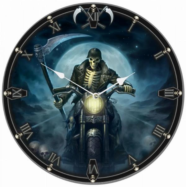 Photo of Hell Rider Wall Clock (James Ryman) 34 cm