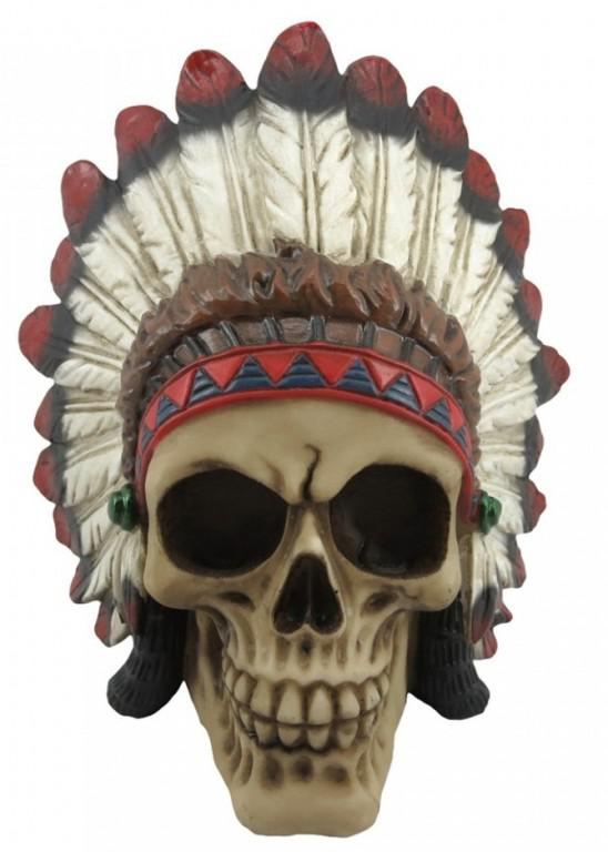 Photo of Indian Chief Skull 14cm