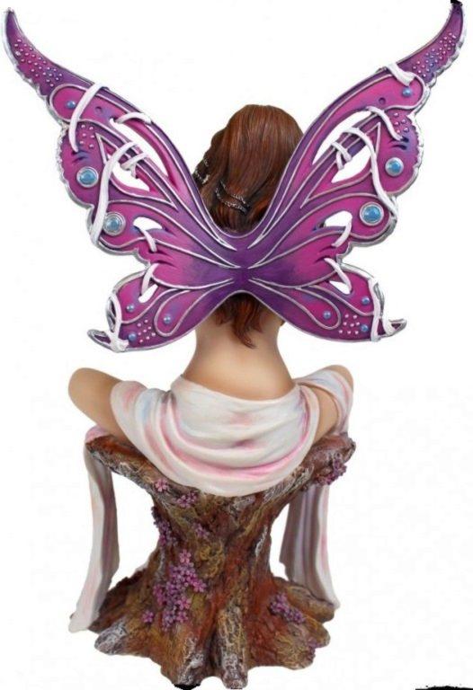 Photo of Jewelled Fairy Amethyst Figurine