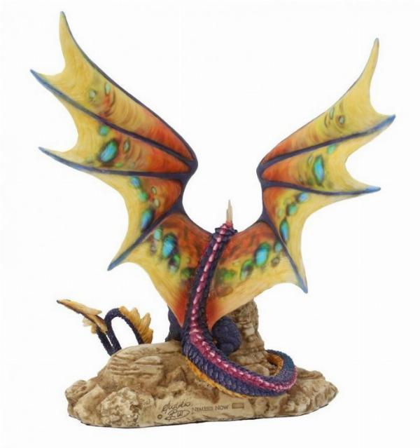 Photo of Khamseen Desert Dragon Figurine (Andrew Bill) 23 cm