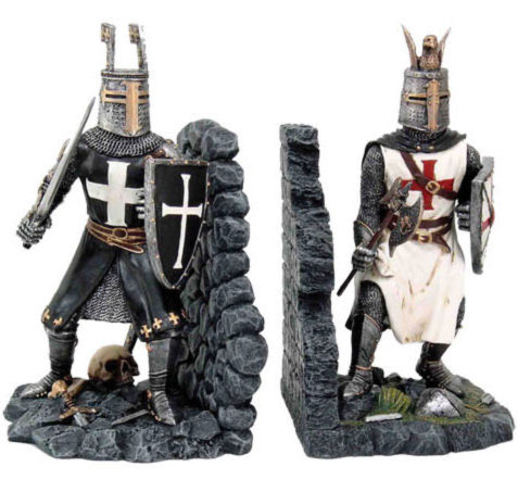 Photo of Knight Bookends