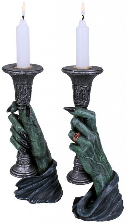 Photo of Light of Darkness Vampire Hand Candle Holders 20cm (Set of 2)