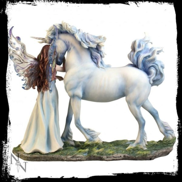 Photo of Long Live Magic Fairy and Unicorn Designer Figurine (Jody Bergsma) 31.5cm