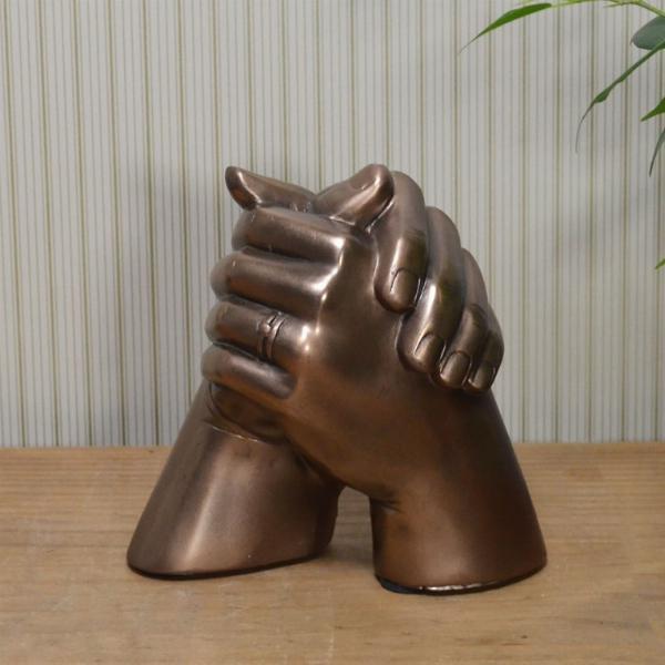 Photo of Marriage Hands Bronze Sculpture
