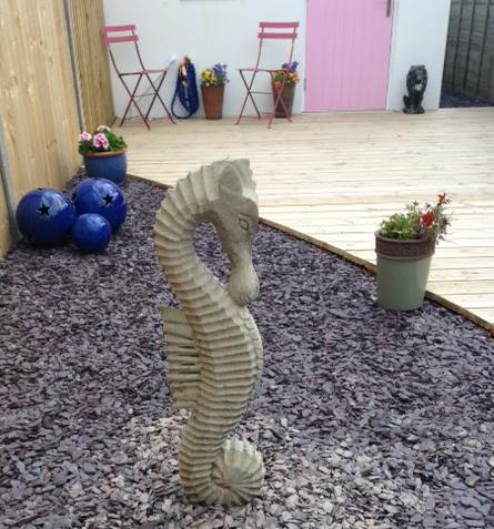 Photo of Medium Stone Seahorse