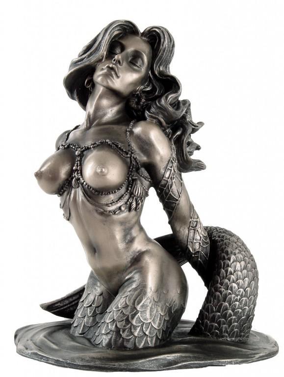 Photo of Mermaid Bronze Figurine Monte M Moore