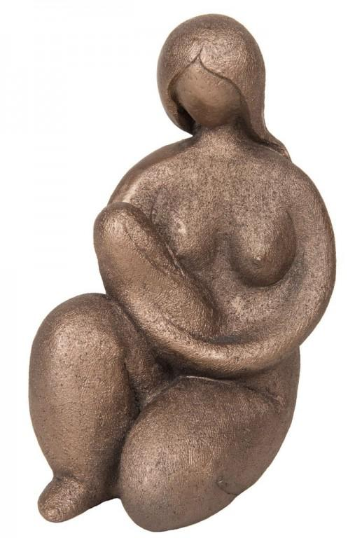 Photo of Mother and Baby Bronze Figurine Adrian Tinsley 19 cm