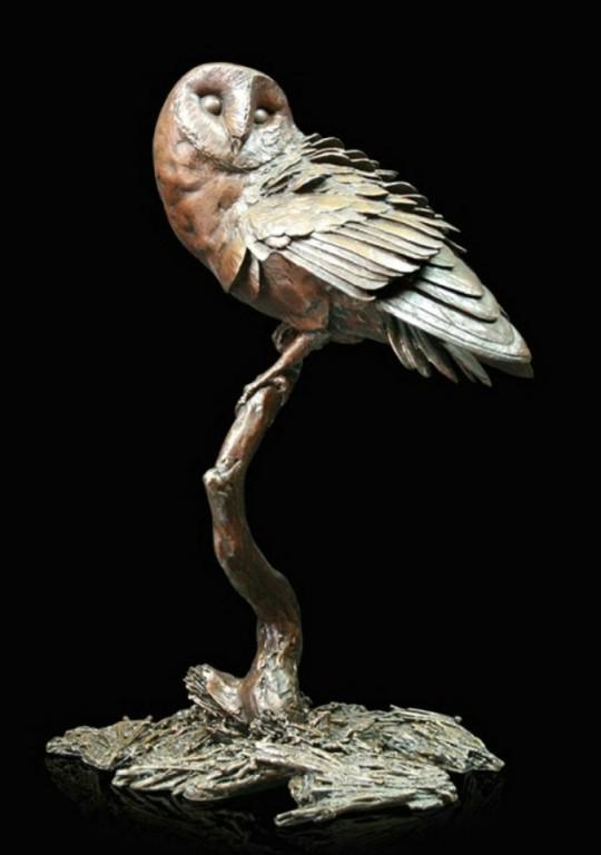 Photo of Night Owl (Limited Edition) Michael Simpson 23 cm