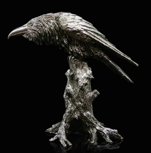 Photo of Raven Designer Sculpture 22 cm Paul Szeiler