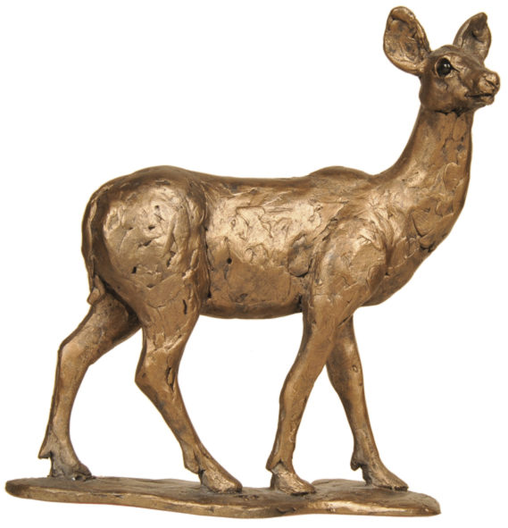 Photo of Red Deer Hind Sculpture (Thomas Meadows)