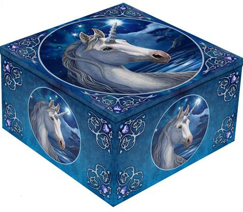 Photo of Sacred One Unicorn Mirror Box Lisa Parker