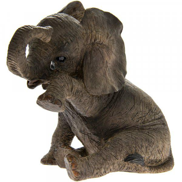 Photo of Sitting Elephant Missing You Leonardo Collection