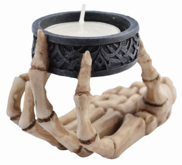 Photo of Skeleton Hand Tea Light Holder