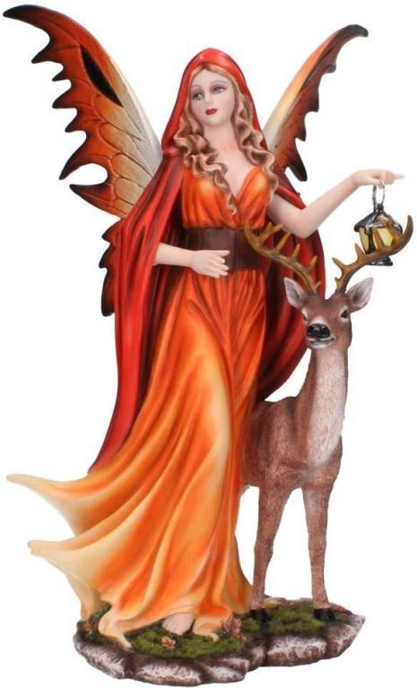 Photo of Spirit of Autumn Fairy Figurine 35cm