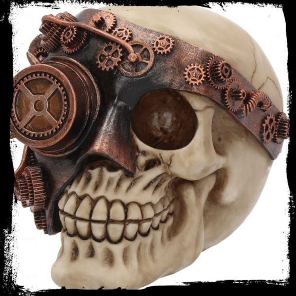 Photo of Steampunk Skull Ornament