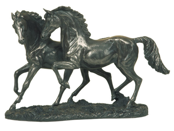 Photo of The Chase Bronze Horse Sculpture