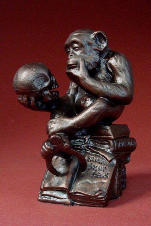 Photo of The Darwin Monkey Figurine Rheinhold