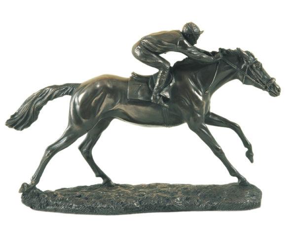 Photo of The Final Furlong Bronze Sculpture