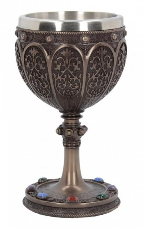 Photo of The Grail Bronze Chalice 17cm