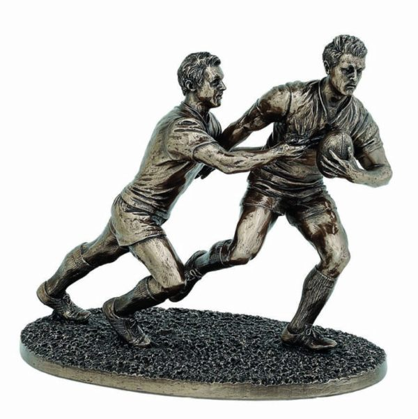 Photo of The Tackle Rugby Figurine 21cm