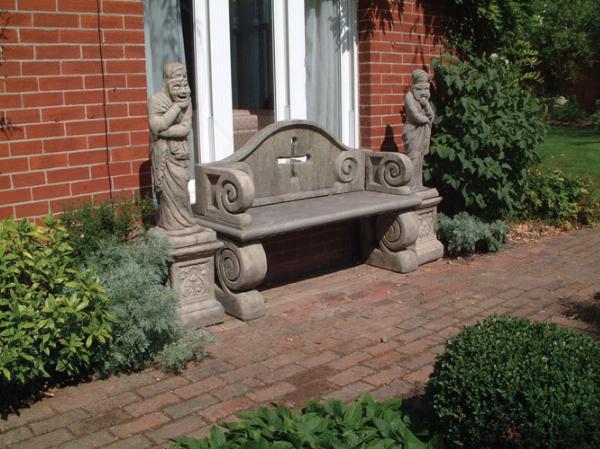 Photo of Tudor Stone Bench