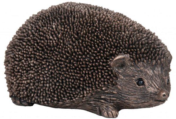 Photo of Wiggles the Hedgehog Bronze Sculpture (Thomas Meadows) 12cm