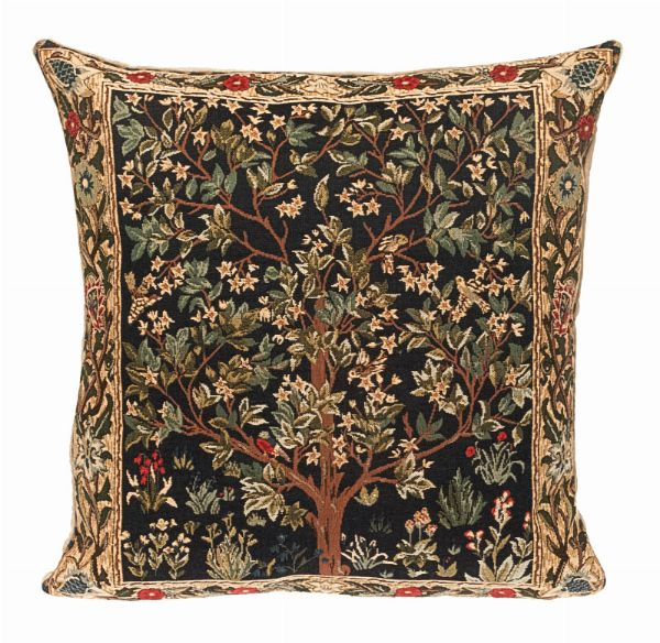 Phot of William Morris Tree Of Life Tapestry Cushion I