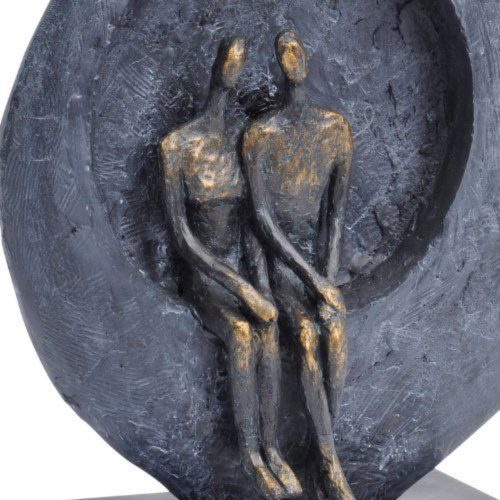 Photo of Abstract Couple Sculpture 30 cm