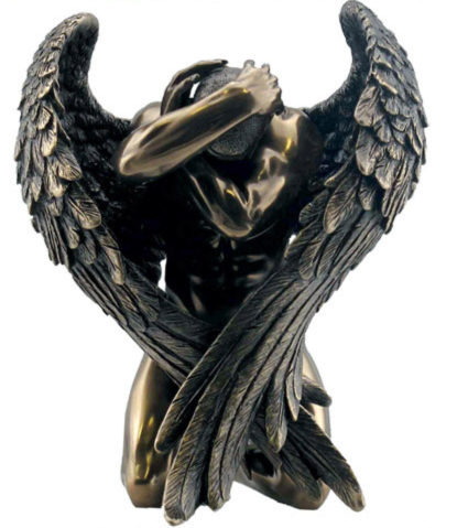 Photo of Angels Retreat Bronze Figurine