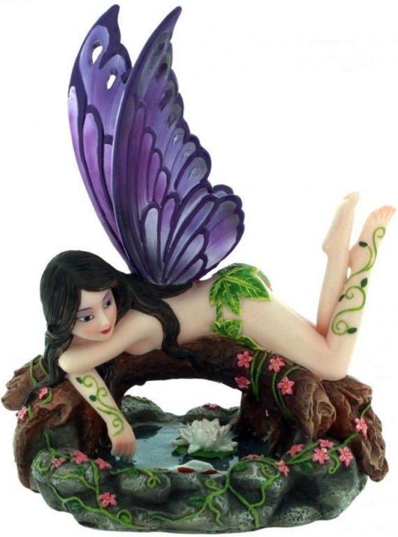 Photo of Athena Fantasy Winged Fairy Ornament