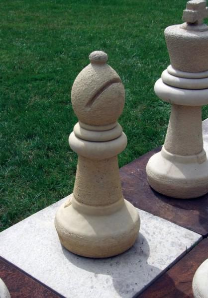 Photo of Bishop Chess Piece Stone Ornament