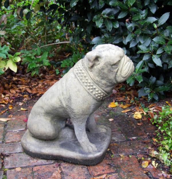 Photo of Bulldog Stone Ornament