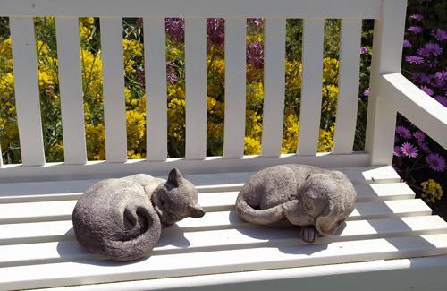 Photo of Cat Nap Stone Ornament