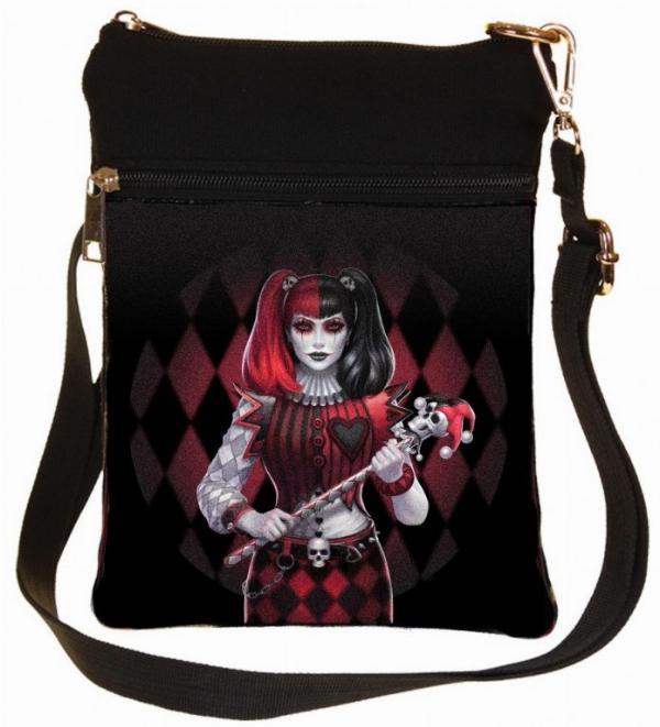 Photo of Dark Jester Gothic Girl Shoulder Bag James Ryman