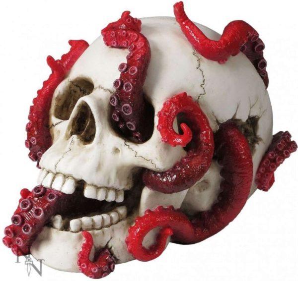 Photo of Devoured Skull Ornament 24cm