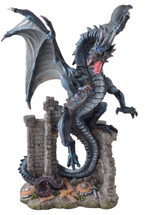 Photo of Dragon in Castle Ruins Figurine