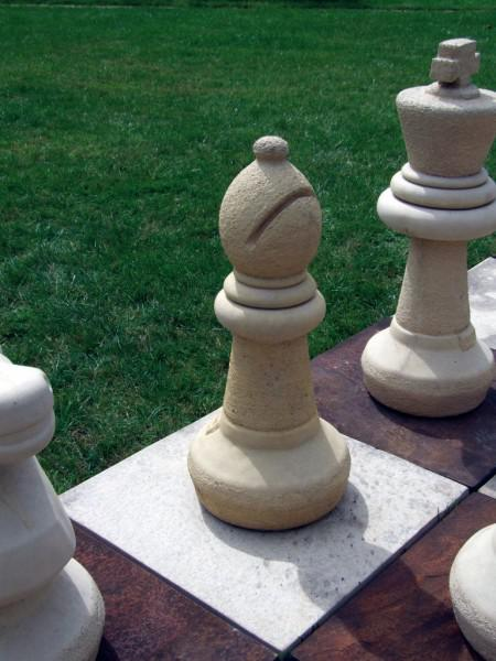 Photo of Garden Stone Chess Set