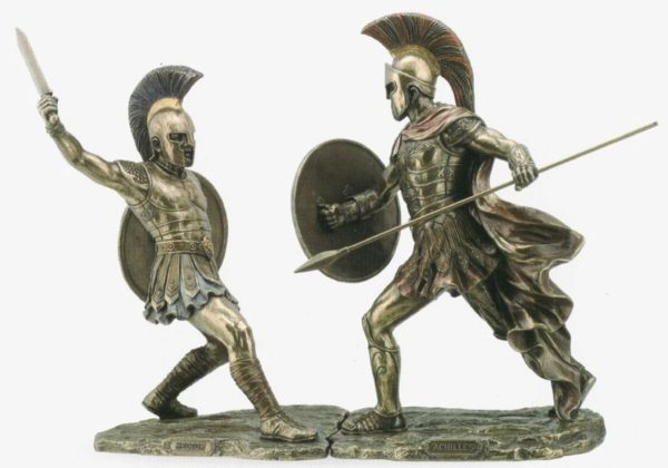 Photo of Hector Bronze Figurine 30 cm