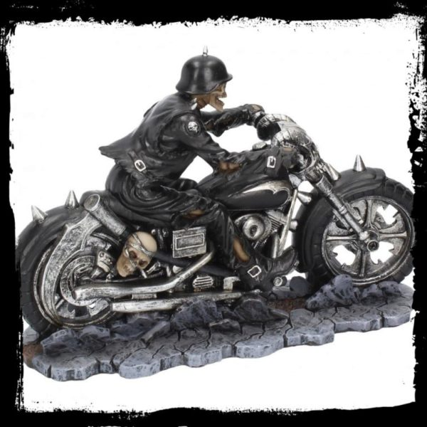 Photo of Hell on the Highway Skeleton Biker Figurine James Ryman
