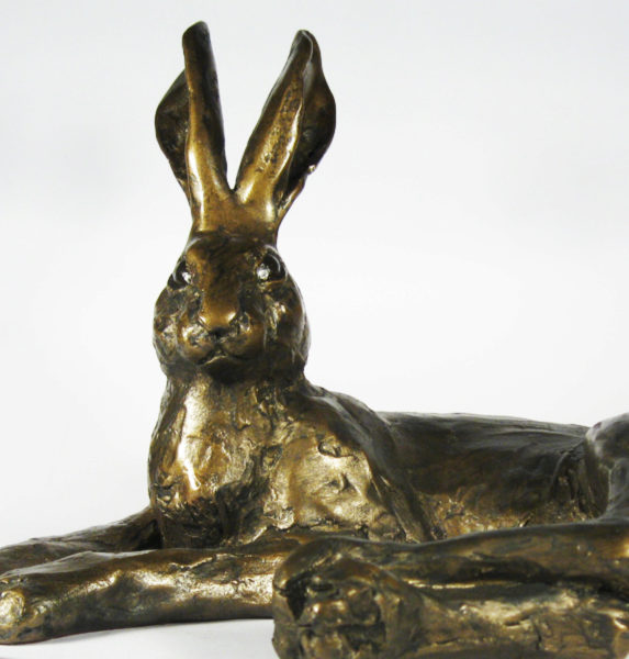 Photo of Hermione Hare Bronze Figurine (Paul Jenkins)