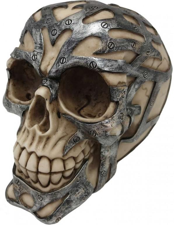 Photo of Ironclad Skull Ornament 15cm