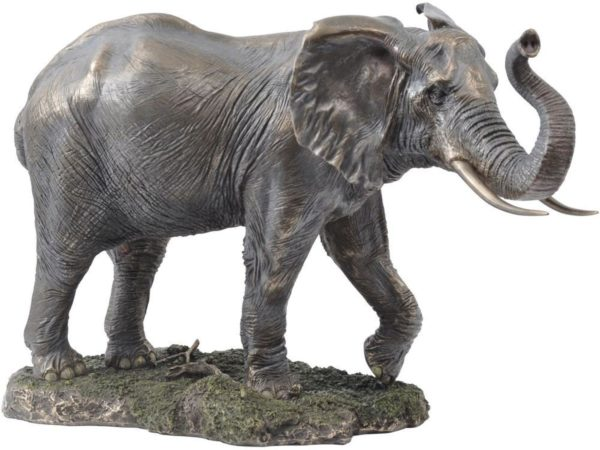 Photo of Large Bronze Elephant Standing