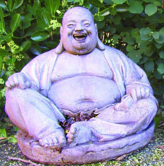 Photo of Laughing Buddha Stone Sculpture